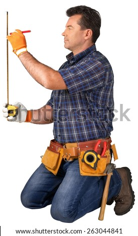 Construction Worker. Construction Series - stock photo