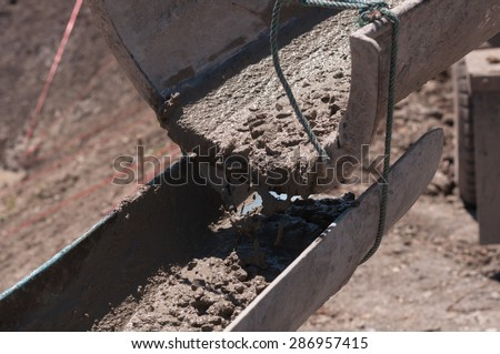 Construction worker Working in the heat, - stock photo
