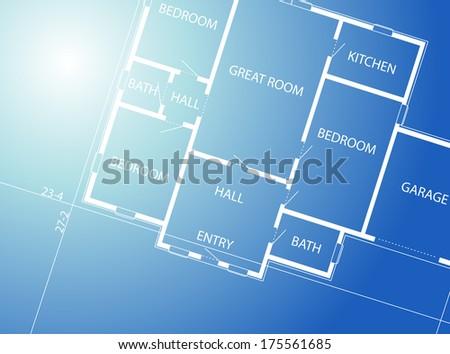 Constructional background - stock photo