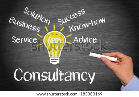 Consultancy - Business Concept - stock photo