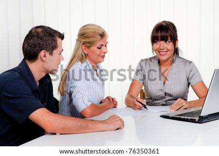 consultation - stock photo