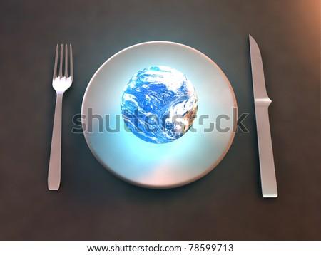 Consumer society - stock photo