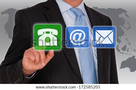 Contact us - Phone Call - stock photo