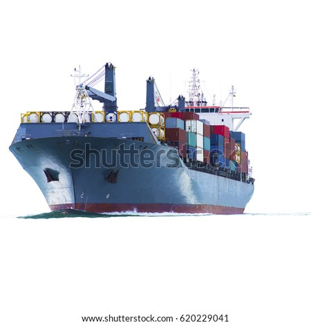 container ship isolated stock images royalty free images vectors shutterstock. Black Bedroom Furniture Sets. Home Design Ideas