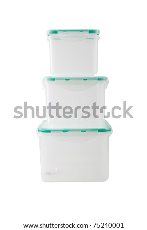 container for storing food - stock photo