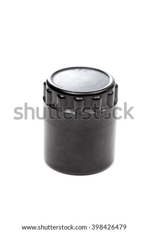 container on the white background