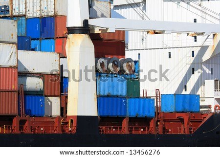 container shipping xi