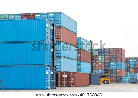 Container white background