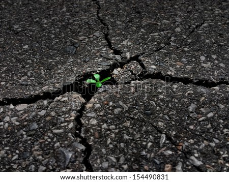 Contaminated Earth resolving - stock photo