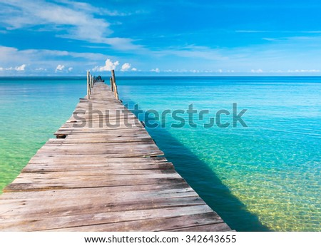 Contemplating the Sea Calm Meditation  - stock photo