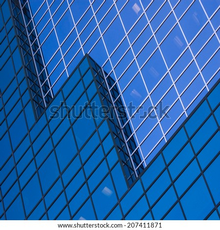contemporary business background  - stock photo