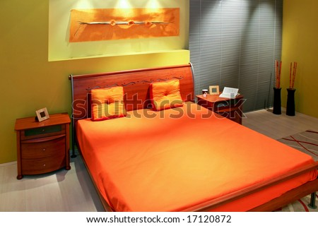 designed bedroom. Contemporary designed bedroom with lot of details Fine Image Modern Wood Bed Room Stock Photo 15441091  Shutterstock