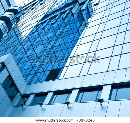 contemporary glass architecture, business background