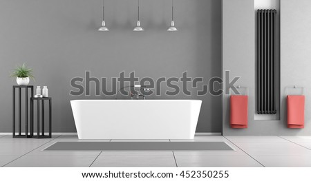 Stock images royalty free images vectors shutterstock - Lavish white and grey kitchen for hygienic and bright view ...