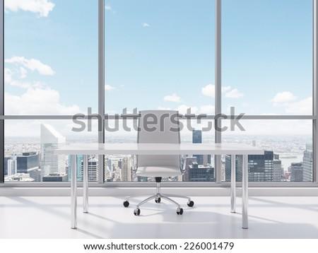 Contemporary office, New York.  - stock photo