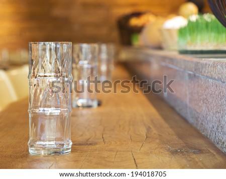 Contemporary restaurant - stock photo