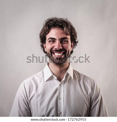 content man - stock photo