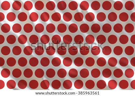 Continuous   silk dotted fabric pattern