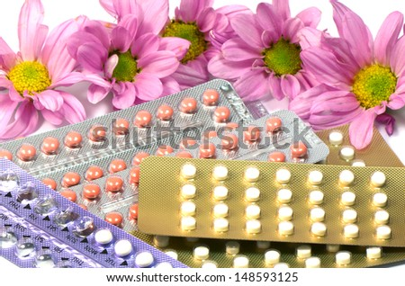 Contraception Methods. - stock photo