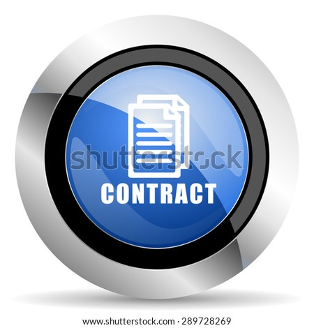 contract icon original modern design for web and mobile app on white background  - stock photo