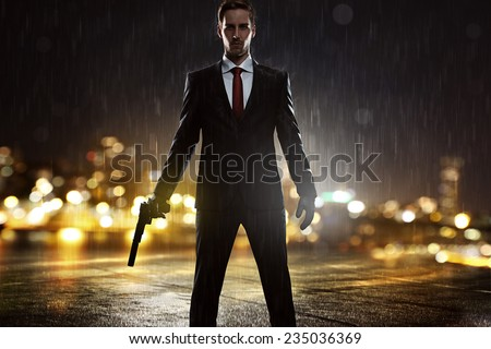 Contract Killer - stock photo