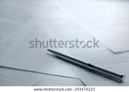 contract series - Stock Image  - stock photo