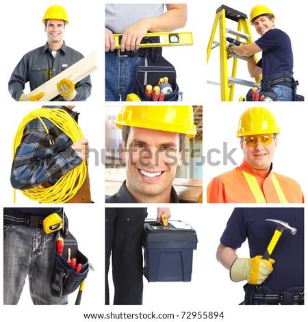 contractor - stock photo