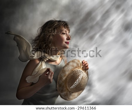 Contrary wind - stock photo