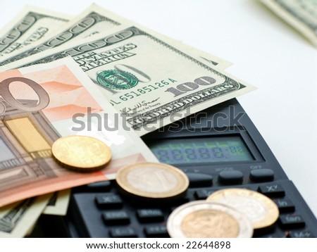 Control private  budget -  surveyor - stock photo