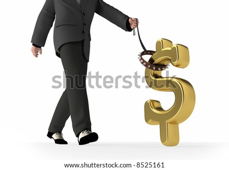 control your financial future - stock photo