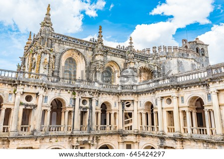 Convent of Christ in Tomar, Portugal - A UNESCO World Heritage Site