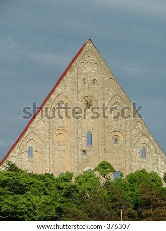 Convent of St. Bridget (Tallinn city, Estonia) - stock photo