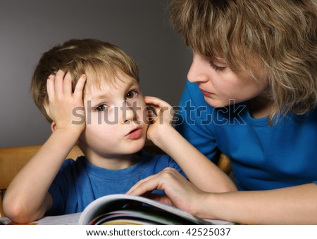 Conversation together - stock photo