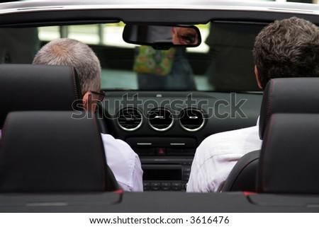 Convertible car - stock photo