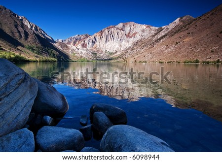 Convict Lake - stock photo