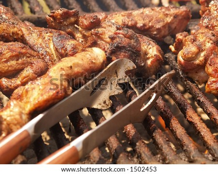 cook out - stock photo