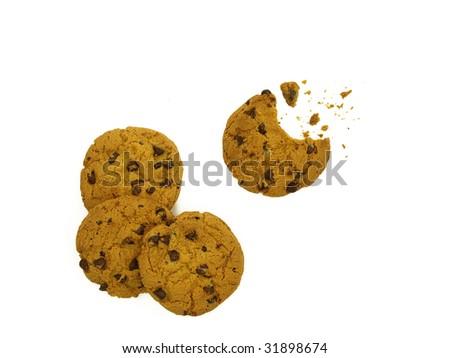 Cookie ensemble of 4 - stock photo