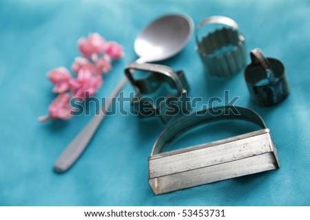 Cookie molds - stock photo