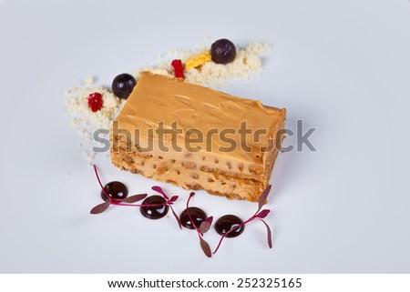 Cookie stack dessert - stock photo