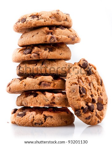 Cookie Tower - stock photo