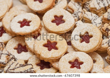 cookies and sweets - stock photo