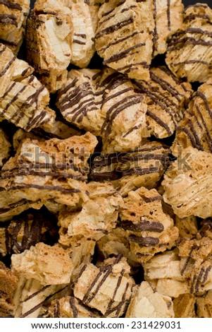 Cookies closeup  - stock photo