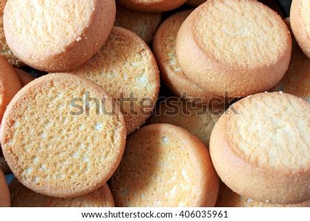 Cookies for breakfast - stock photo