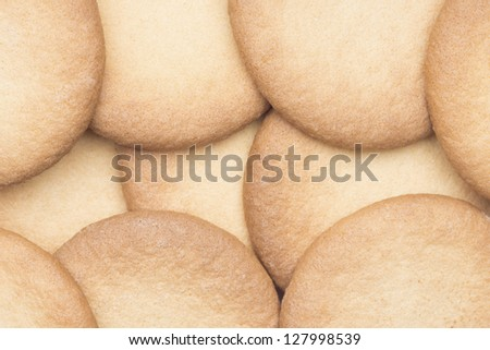 Cookies fresh from the oven - stock photo