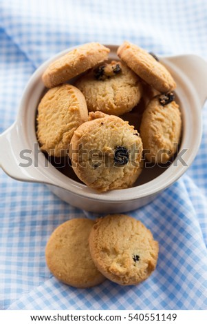 Cookies in a Bowl.