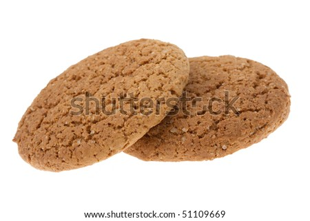 cookies isolated on the white