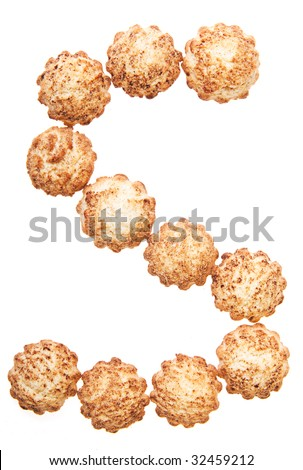 "cookieS (letter ""S"" of  ""cookies"" (or another word)"