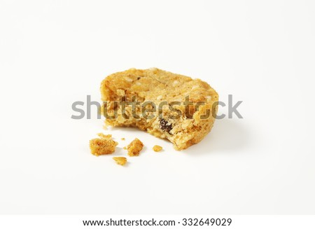 Cookies with crumbs - stock photo