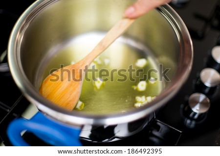 Cooking - stock photo
