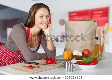 Cooking. - stock photo
